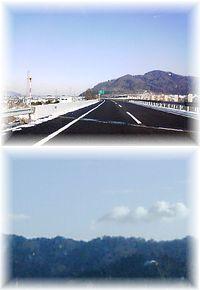 高速道路の風景