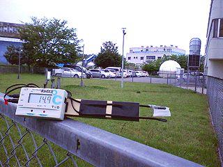 デジタル湿度計計測