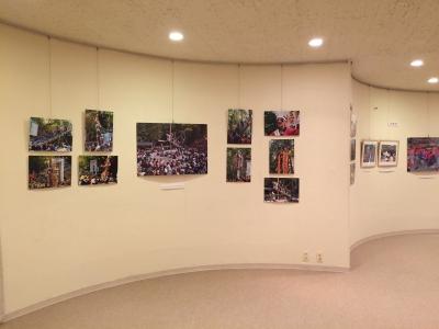 八ヶ岳美術館 御柱祭 写真展