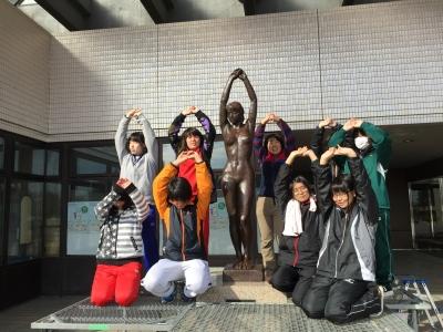八ヶ岳美術館 彫刻 ブロンズ クリーニング
