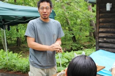 八ヶ岳美術館 熊谷幸治さんワークショップ