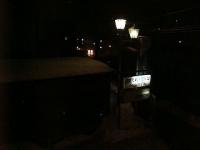 2月11日の夜景(白馬駅方面)