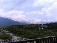 6月12日の白馬の山々