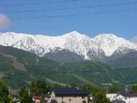 やっぱり山は白が一番!!