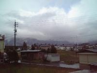 ゴールデンウィークは雨の幕開け