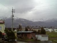残念な雨のスタートの5月