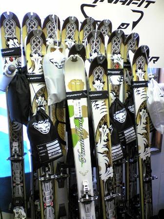 スキーは7サミットです。