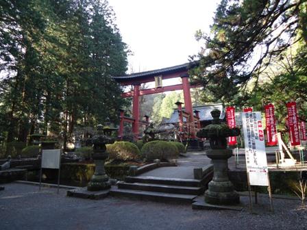 浅間神社全体像です。