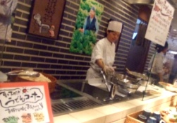 天ぷらカウンター