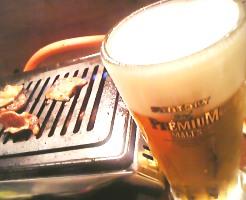 ビールはプレミアムモルツ♪