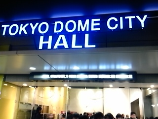 Noel Gallaghers High Flying Birds@Tokyo Dome City Hall