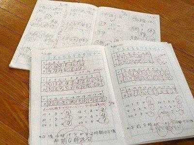 国語 国語5年生 : 小3娘の最近の家庭学習ノート ...