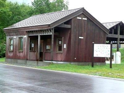 ニセコ野営場の管理人室