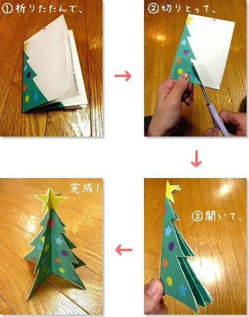 簡単 折り紙 : クリスマスツリー折り紙簡単 : blog.kotoba.littlestar.jp