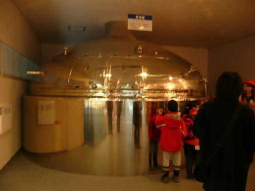 アサヒビール工場で実際に使われていた釜
