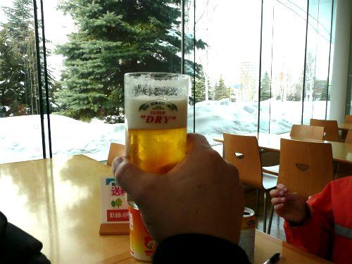 アサヒビール工場見学で試飲させてもらったビール
