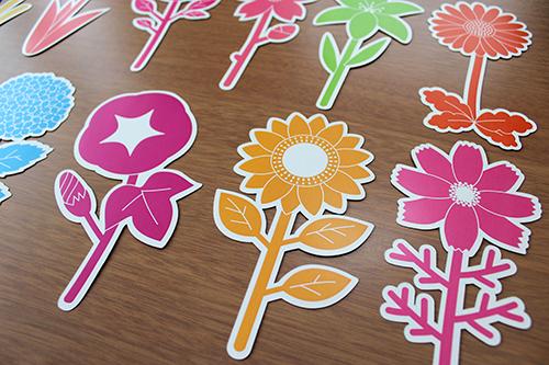 花の一輪挿しカレンダー