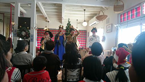クリスマスコンサート ioraさんの キャラバンノエル