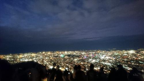 藻岩山 ロープウェイ・夜景 日本新三大夜景