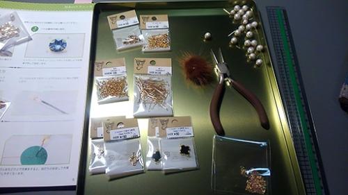 ネックレス手作りの材料、パーツ