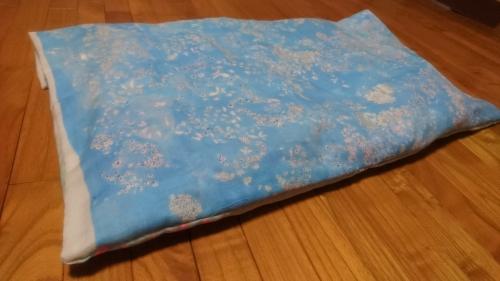 枕カバーを作った