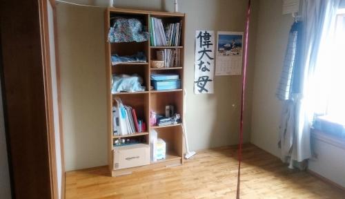 きれいにする前の私の部屋の一角