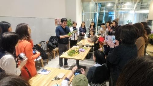 アイロニー 札幌・春のブーケレッスン