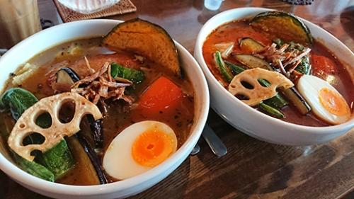チュッタ!江別店 で食べたスープカレー