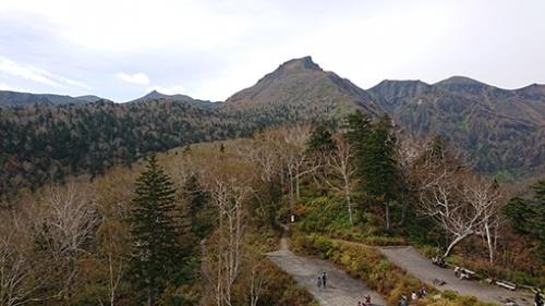 層雲峡に紅葉狩りに行きました