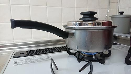 ビタクラフト鍋で炊くご飯