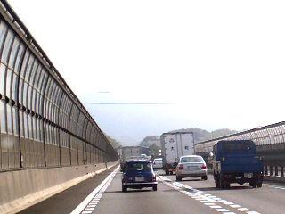 名神高速道路風景