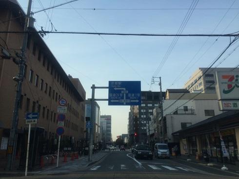 京都駅周辺道路