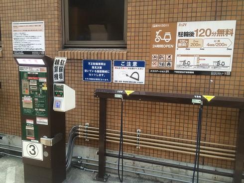 京都駅駐輪場1