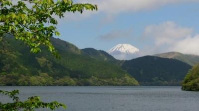 芦ノ湖(富士山)