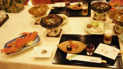 天橋立ホテルでの夕食