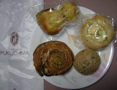 ブランジェリーフクシマのパン