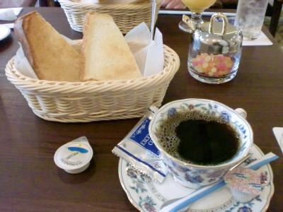 コーヒー&トーストサービス