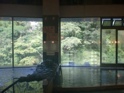 龍神温泉元湯浴室