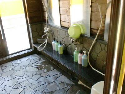 内湯 洗い場