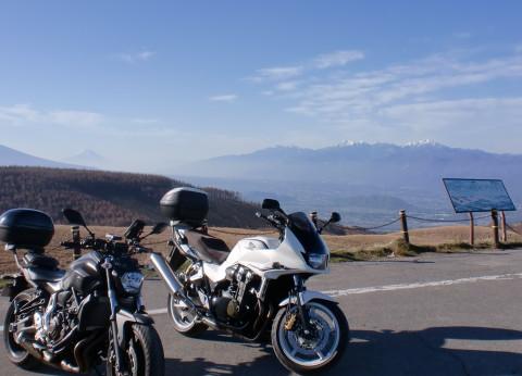 富士山と山々