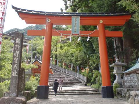 熊野那智大社鳥居