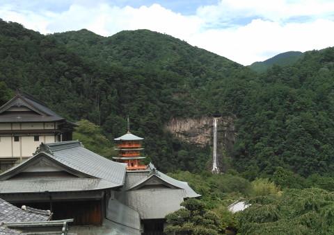 青岸渡寺からの那智の滝