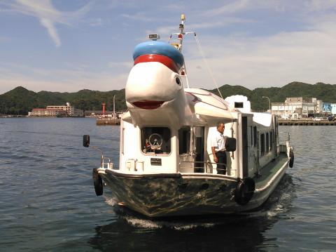 帰りの亀さん船