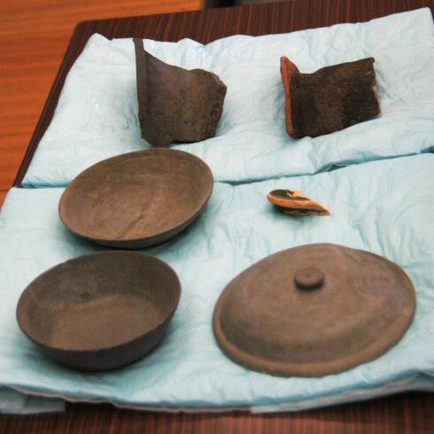 須恵器;緑彩陶器