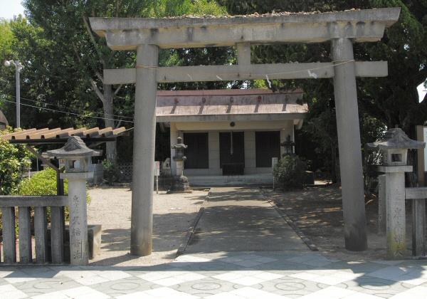磐台神社(一柳氏の氏神)