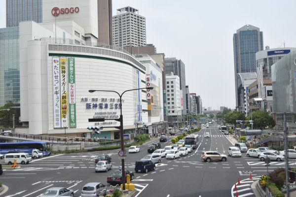 三宮駅高架