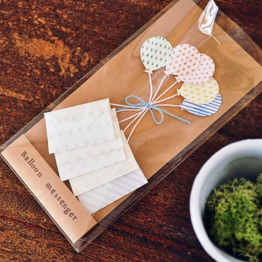 風船メッセージカート