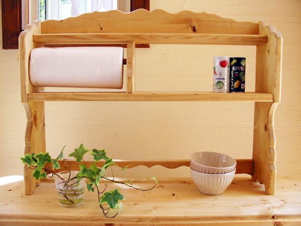 キッチンペーパーシェルフII*シンプル受注製作