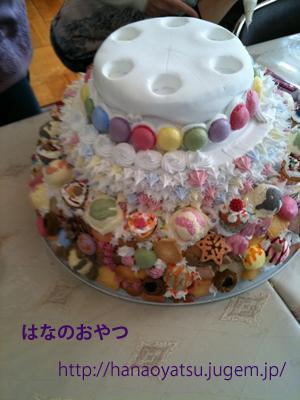 バースデーケーキ作業経過