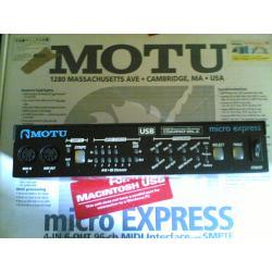 MOTU micro express-USB(99年もの)